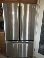 Mint condition LG French Door Stainless Steel Fridge!!