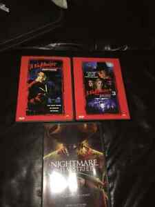 Nightmare on Elm Street - 3 DVDs