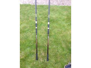 2 x nash outlaw rods 12tf 2 1/2 tc