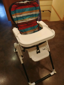 Lux folding high chair