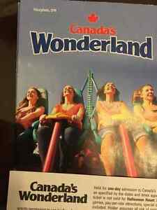 SELLING 2 TICKETS FOR WONDERLAND