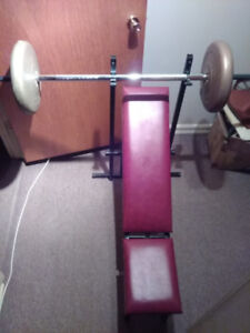 Banc d'exercices / Benchpress / Bench press