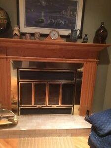 Solid Wood Mantel