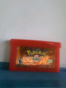 Pokemon fire red gameboy advanced