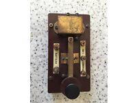 1940s Morse Code Training Key