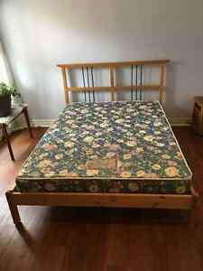 IKEA Dalselv double bed with mattress for sale