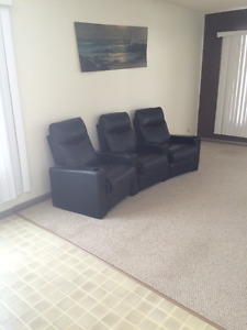 Comfortable Leather Recliners!