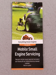 BE PREPARED FOR WINTER: MOBILE SNOWBLOWER SERVICING