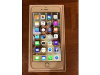 iPhone 6plus in gold 64GB