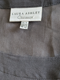 Laura Ashley Occasion dress with separate underslip.