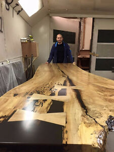 FREE LIVE EDGE BENCH TODAY WITH A LIVE EDGE TABLE PURCHASE