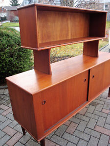 mId century modern buffet and hutch, Teak buffet and hutch London Ontario image 7