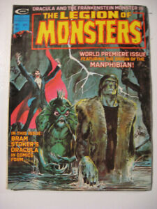 THE LEGION OF MONSTERS. Vol.1 No.1 , Sept. 1975.