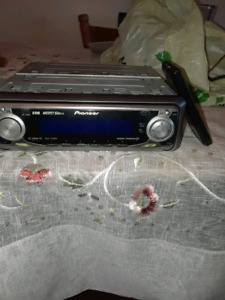 CD & radio with remote