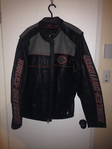 HD Leather Riding Jacket