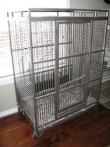 LARGE Steel Parrot Cage