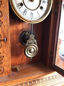 Antique Oak Clock Stratford Kitchener Area image 3