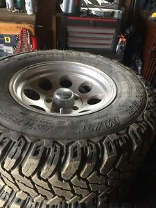 Mags and tires to fit 97 to 03 Ford f150