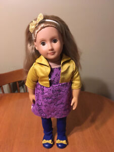 "Our generation 18"" doll Olivia"