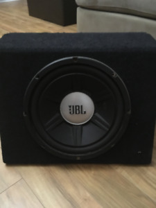 Car Amp and Subwoofer