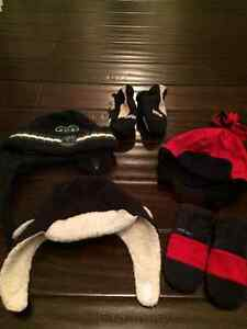 NWOT Boys Osh Gosh & Gap Winter Hats and Mittens