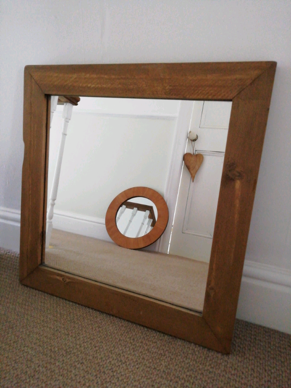 Large Rustic Wooden Mirror In Hull East Yorkshire Gumtree