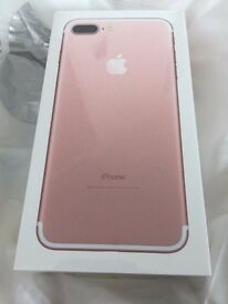 iPhone 7 32GB Rose Gold *New and Sealed*