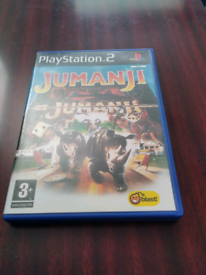 PlayStation 2 game Jumanji with memory card all as shown £3