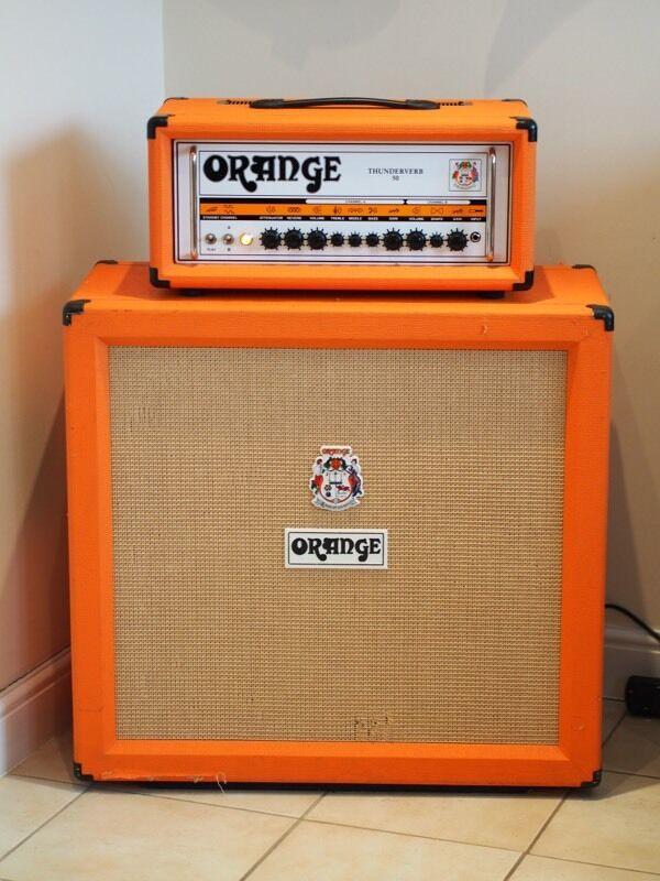 Orange Thunderverb 50 Guitar Amp & PPC412 Speaker Cabinet | in ...