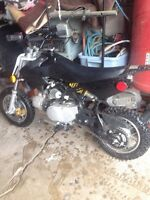 Mini dirt bike $250 FIRM