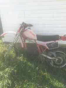 1981 Honda xr500r project