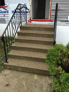 Cement stair case for free