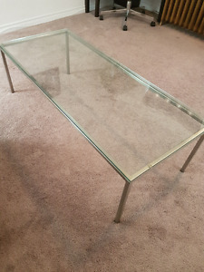 Glass Coffee Table For Sale $40obo