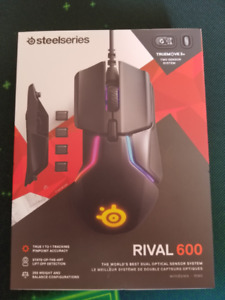 Steelseries Rival 600 Gaming Mouse - 12,000 CPI - RGB Lighting