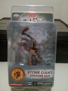 D&D Attack Wing Stone Giant Expansion Pack oop new in box