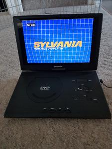 "Sylvania 13"" Portable DVD Player with Swivel Screen & Case"
