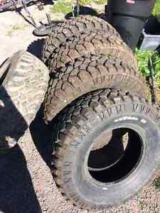 31 10.5 15 mickeythompson degan38 mud tires trade33s