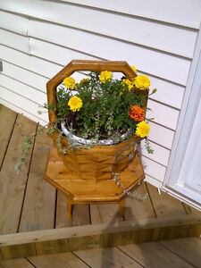 CEDAR PLANTERS FOR SALE!!!!  PERFECT MOTHER'S DAY GIFT!