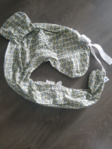 Baby items: My Brest Friend nursing cover + cloth diapers
