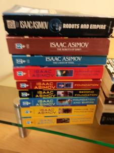 Science Fiction Books - Asimov, Card, Vonnegut, Huxley, Etc