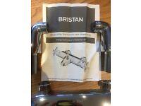 Bristan design utility thermostatic bath shower mixer