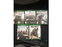 Xbox one games bundle delivery or collection