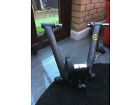 Indoor cycle turbo trainer