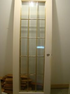 Beveled Glass French doors