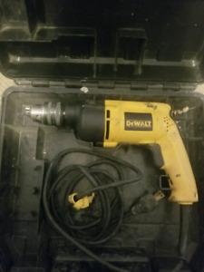 """Dewalt 1/2"""" VSR Hammer drill"""