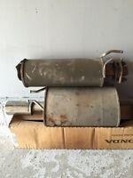 07 Civic Exhaust and Resonator