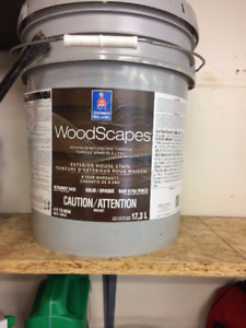 Exterior Wood Stain. 17.3 Litres. Bought new but never used.