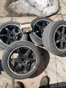 mag 4×114 4×100 + pneu 205/50/16