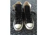 All star converse trainers size 3