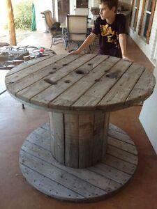 Seeking Wooden Spool
